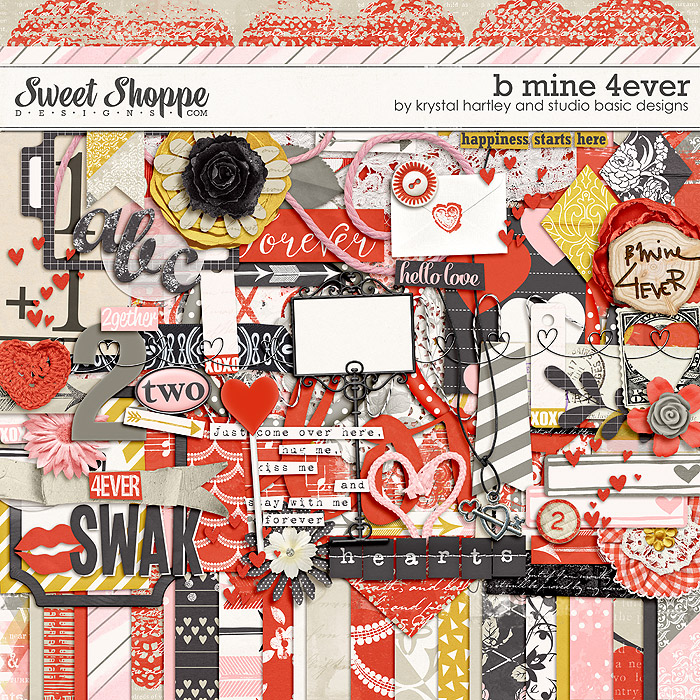 B Mine 4Ever by Studio Basic and Krystal Hartley
