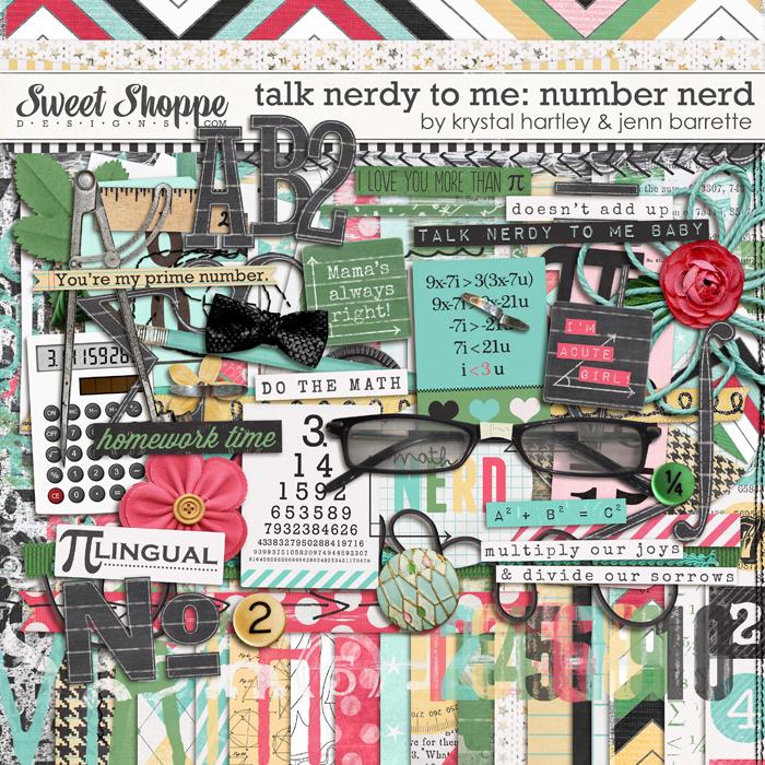 Talk Nerdy to Me: Number Nerd by Krystal Hartley and Jenn Barrette