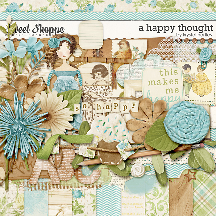 A Happy Thought by Krystal Hartley