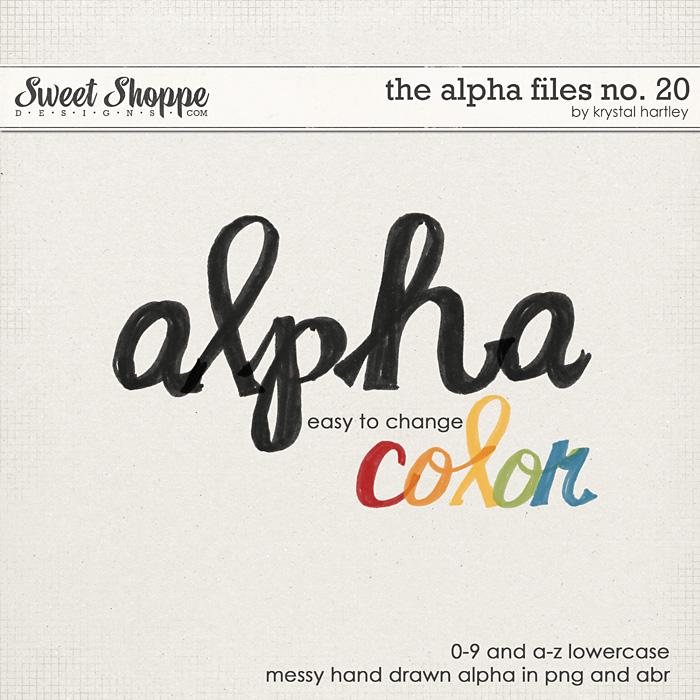 The Alpha Files No. 20 by Krystal Hartley