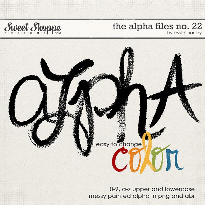 The Alpha Files No. 22 by Krystal Hartley