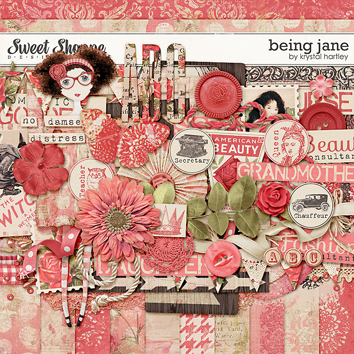 Being Jane by Krystal Hartley