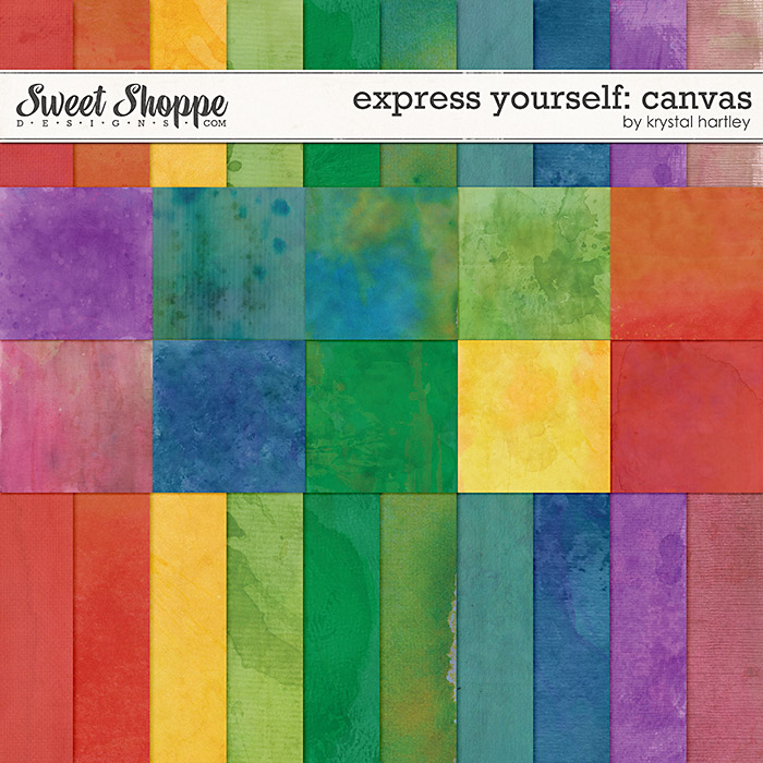 Express Yourself: Canvas by Krystal Hartley