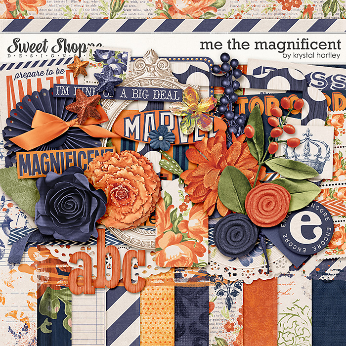 Me the Magnificent by Krystal Hartley