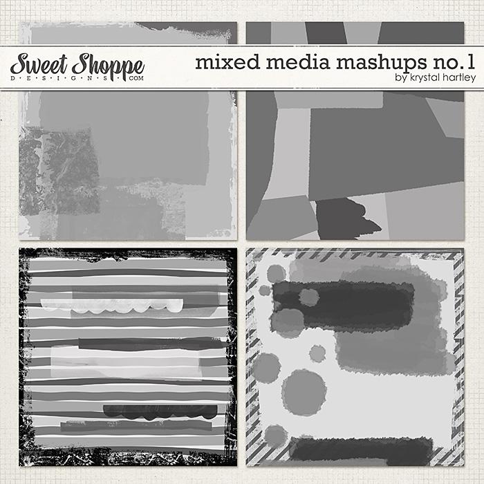 Mixed Media Mashups No. 1 by Krystal Hartley