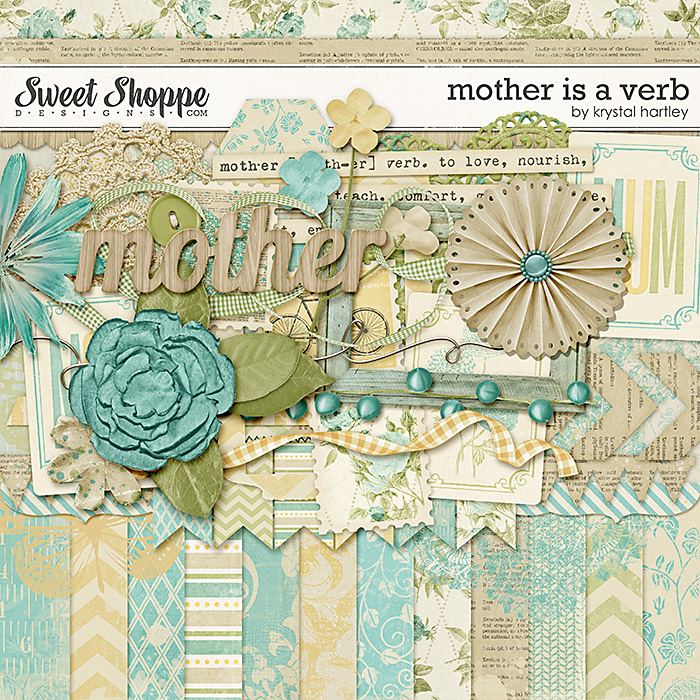 Mother Is a Verb by Krystal Hartley