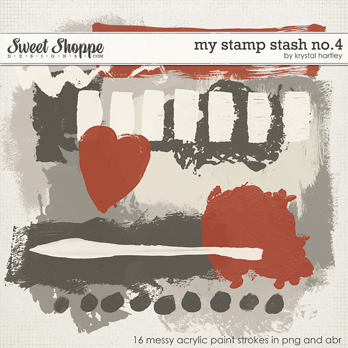 My Stamp Stash No. 4 by Krystal Hartley