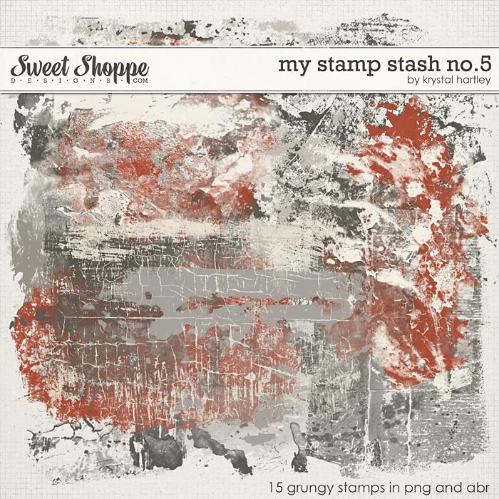 My Stamp Stash No. 5 by Krystal Hartley