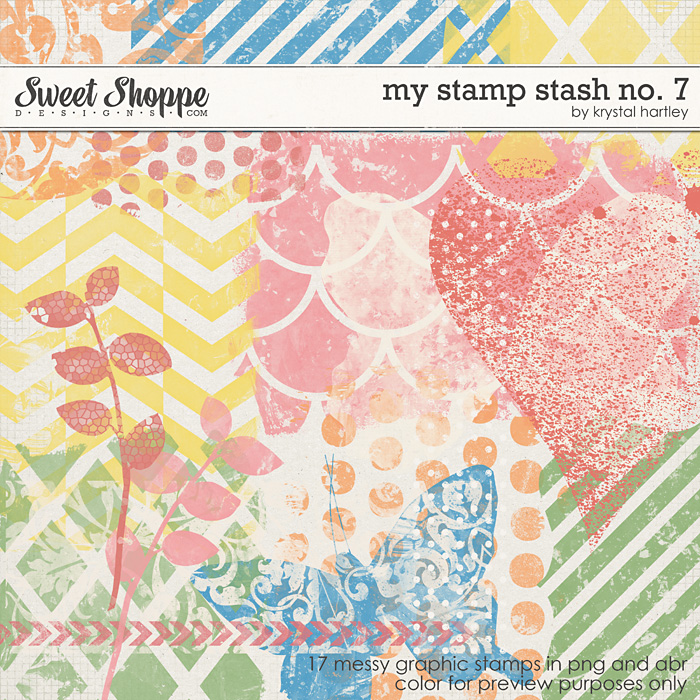 My Stamp Stash No. 7 by Krystal Hartley