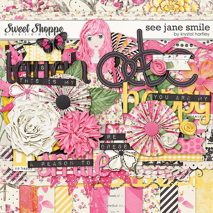 See Jane Smile by Krystal Hartley