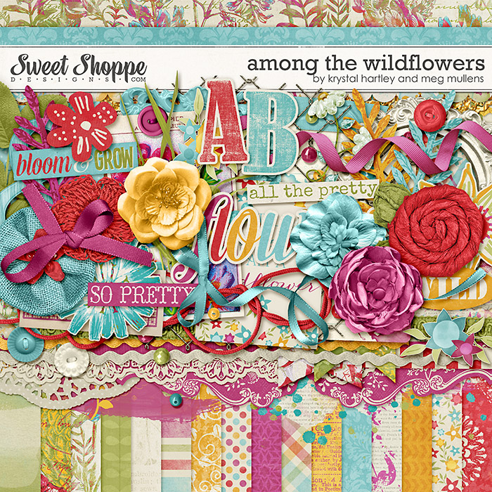 Among the Wildflowers by Krystal Hartley and Meg Mullens