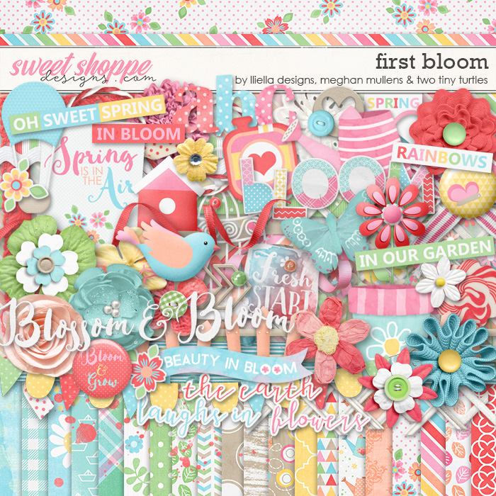 *FREE with your $10 Purchase* First Bloom by lliella designs, Meghan Mullens and Two Tiny Turtles