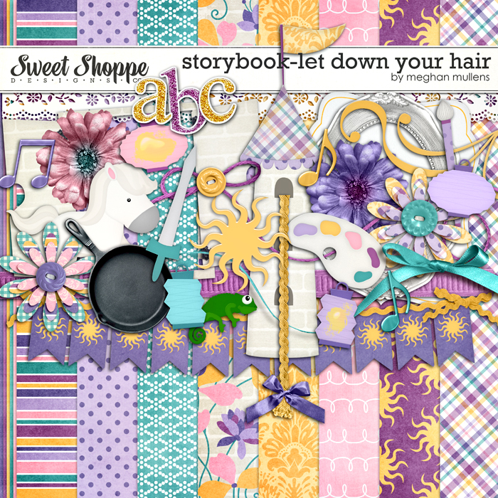 Storybook Collection -Let Down Your Hair by Meghan Mullens