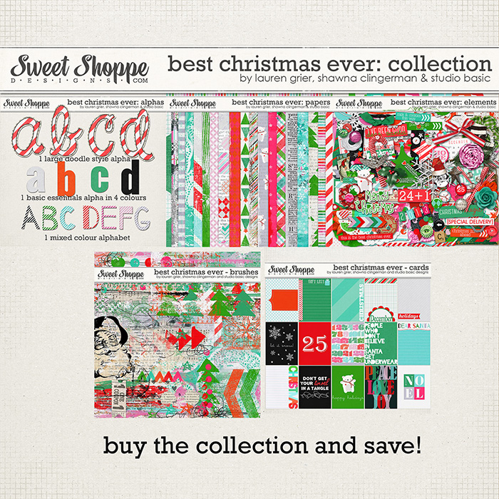 Best Christmas Ever Collection by Studio Basic, Shawna Clingerman and Lauren Grier