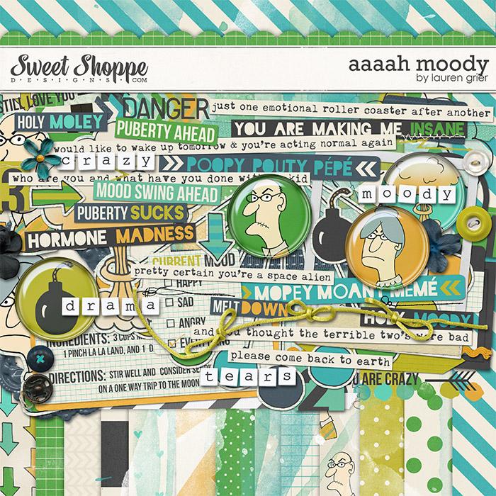 Aaaah Moody by Lauren Grier