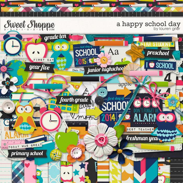 A Happy School Day by Lauren Grier