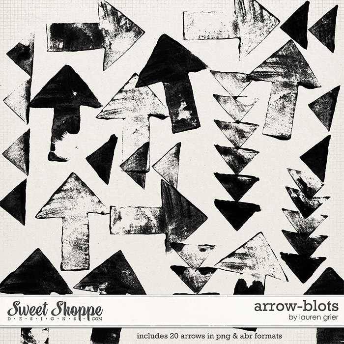 Arrow-Blots by Lauren Grier