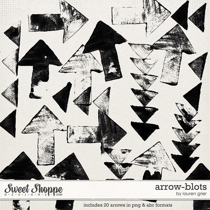 Arrow-Blots by Lauren Grier