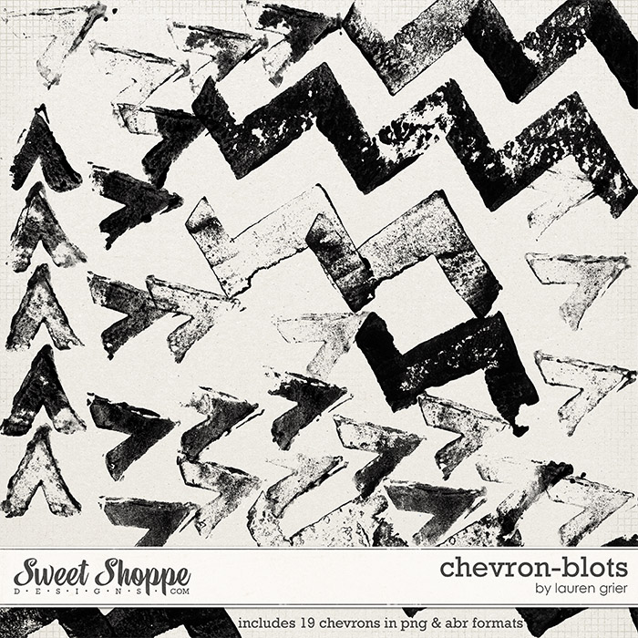 Chevron-Blots by Lauren Grier