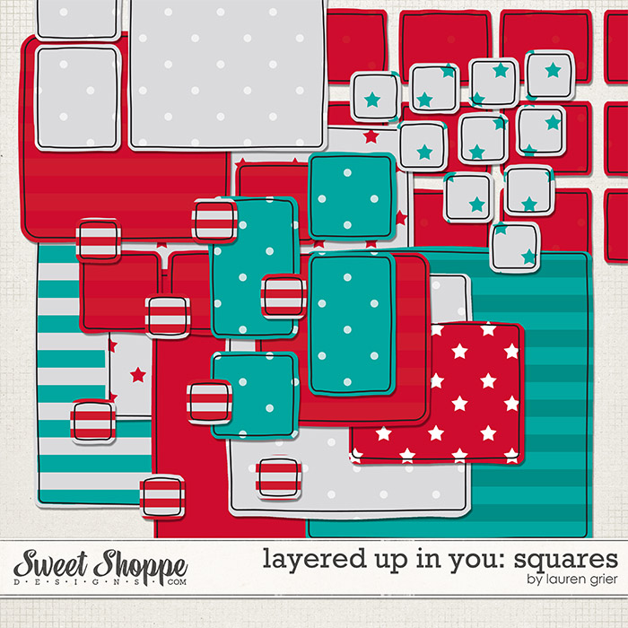 Layered up in You: Squares by lauren grier