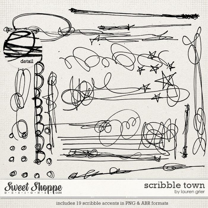 Scribble Town by Lauren Grier