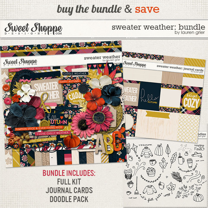 Sweater Weather: Bundle by Lauren Grier