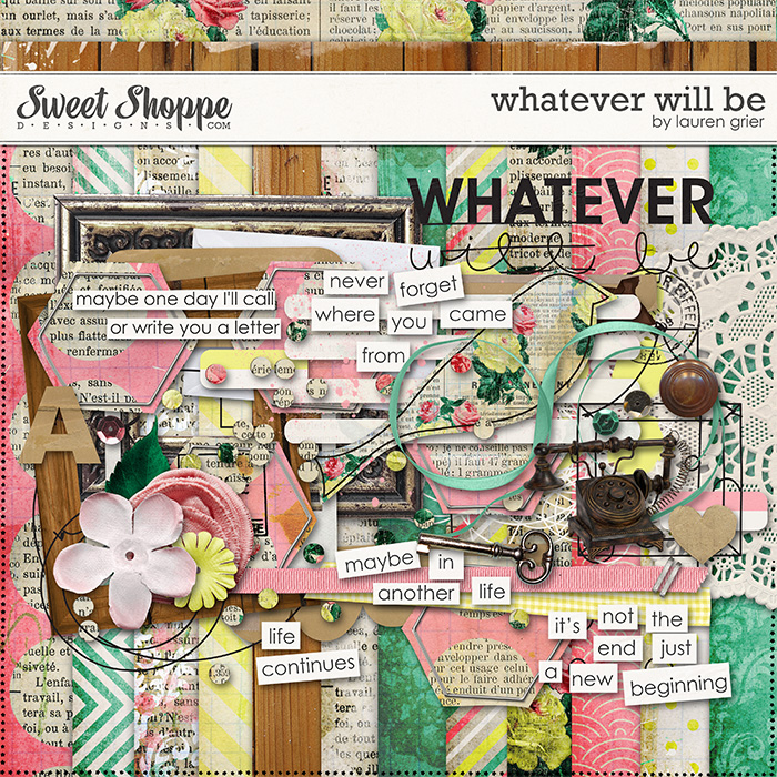 Whatever Will Be by Lauren Grier