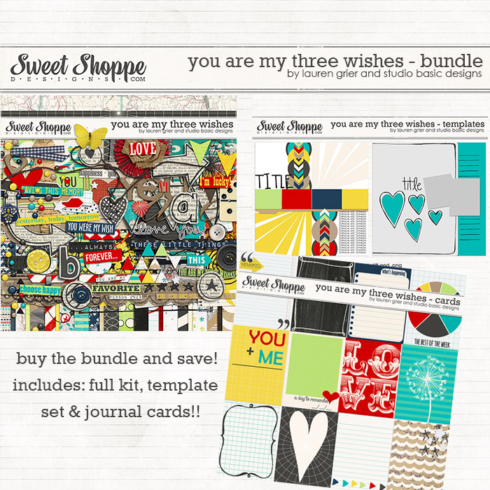 You are my Three Wishes: Bundle by Lauren Grier & Studio Basic
