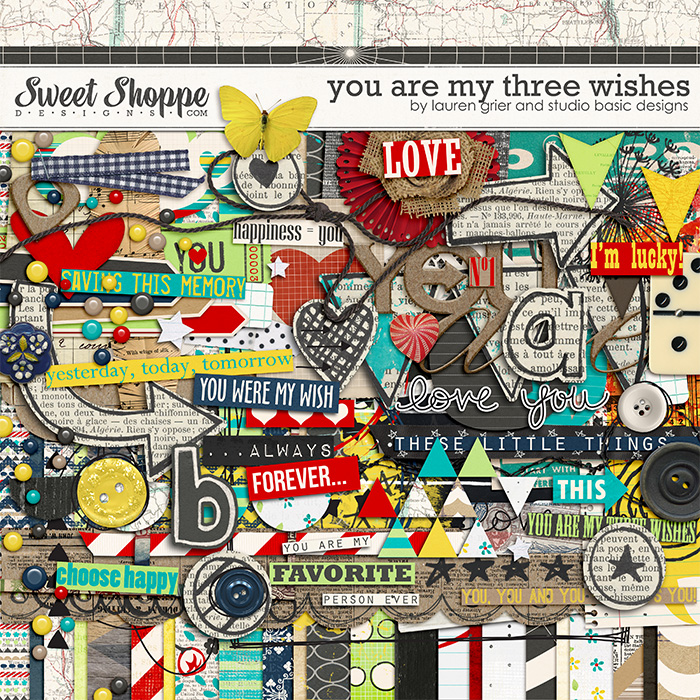You Are My Three Wishes by Lauren Grier & Studio Basic