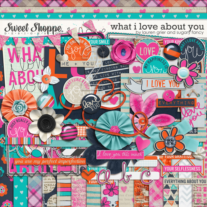What I Love About You by Lauren Grier & Sugary Fancy