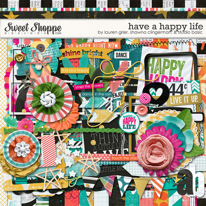 Have a Happy Life  by Lauren Grier, Shawna Clingerman, and Studio Basic