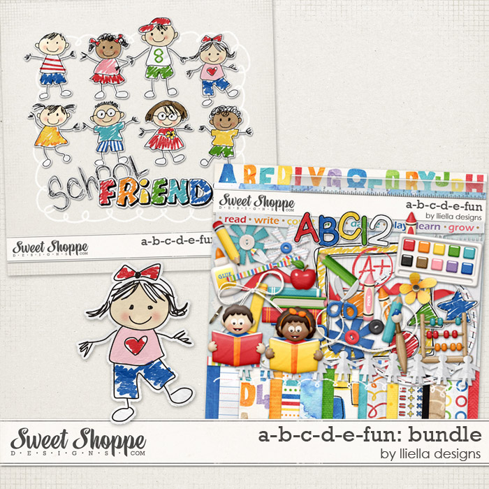A-B-C-D-E-Fun: Bundle by lliella designs