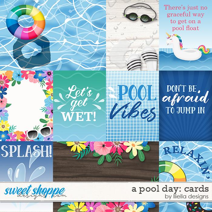 A Pool Day Cards by lliella designs
