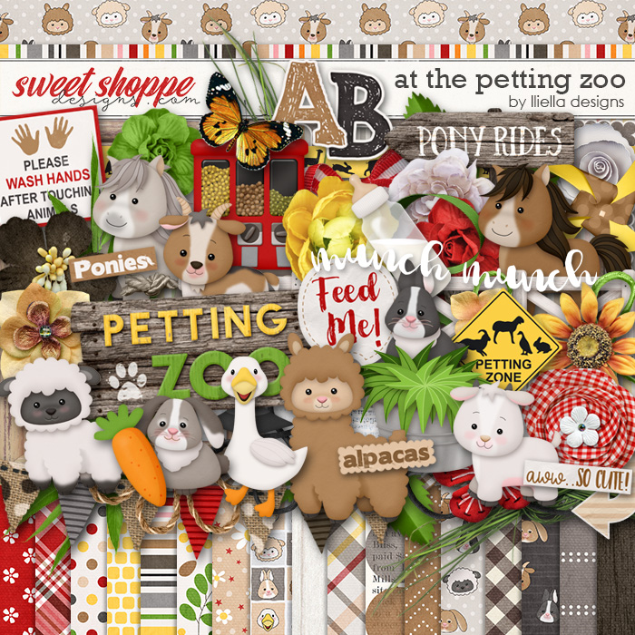 At The Petting Zoo by lliella designs