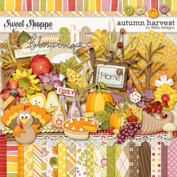 Autumn Harvest by lliella designs
