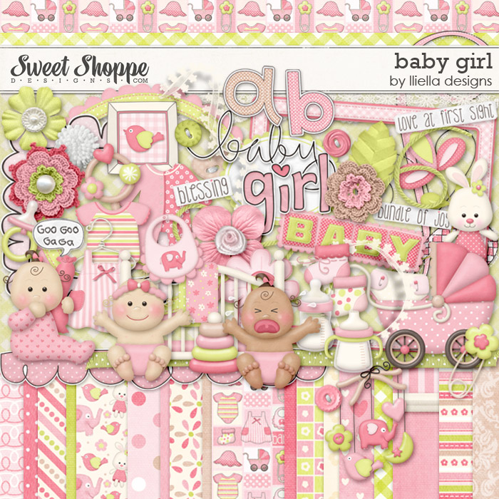 Baby Girl by lliella designs