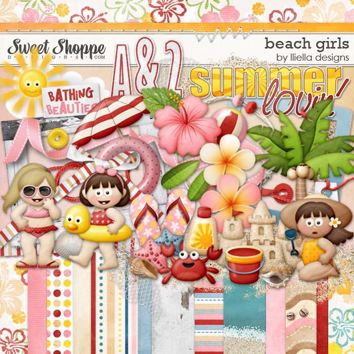 Beach Girls by lliella designs