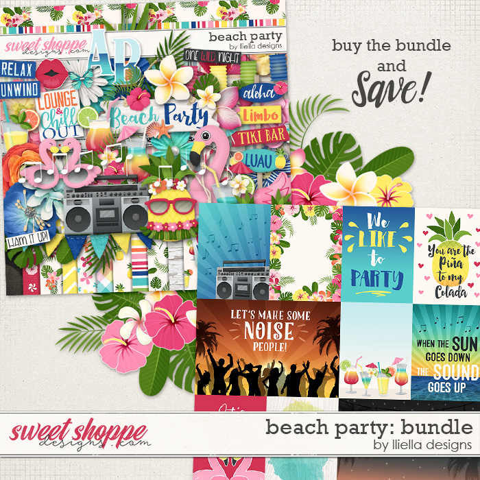 Beach Party: Bundle by lliella designs