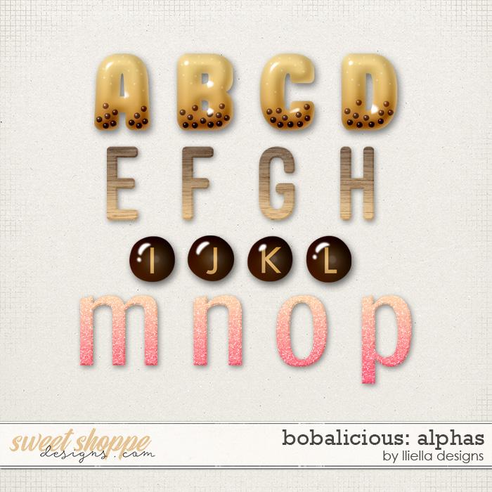 Bobalicious Alphas by lliella designs
