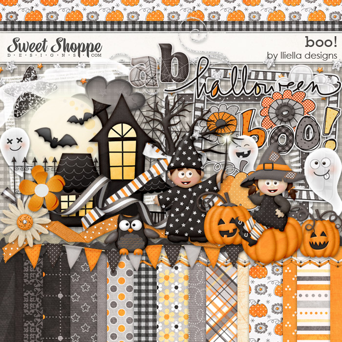 Boo! by lliella designs