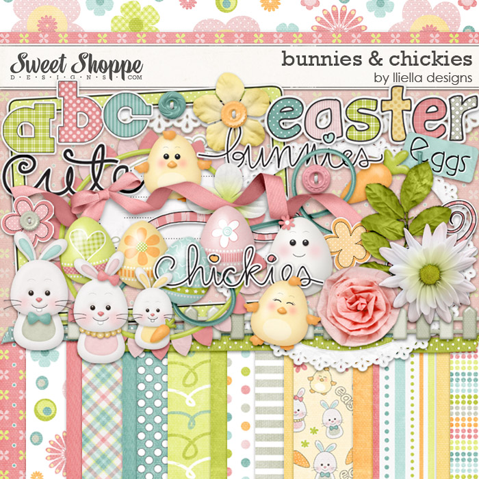Bunnies & Chickies by lliella designs