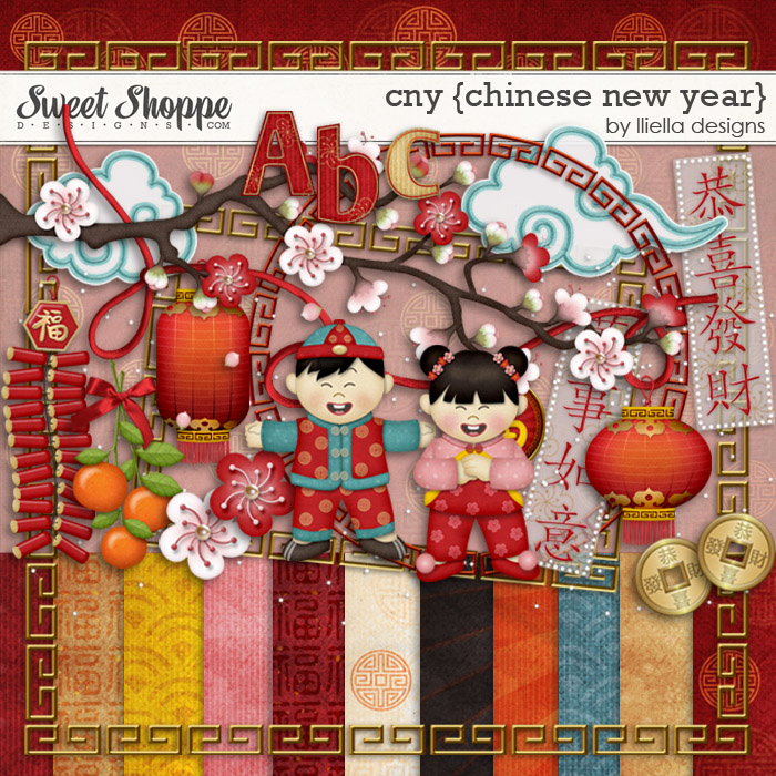 CNY {Chinese New Year} by lliella designs