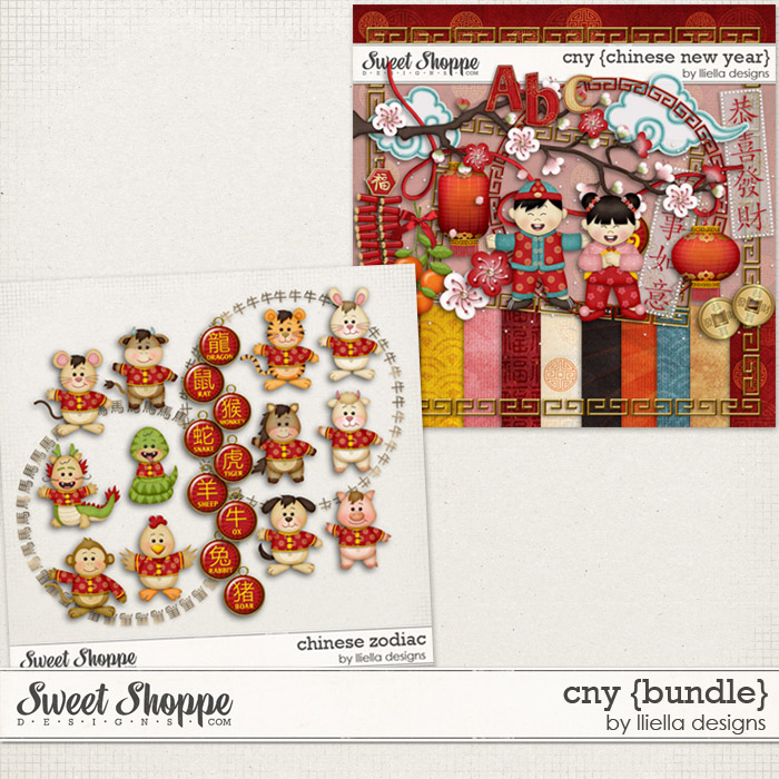 CNY Bundle by lliella designs