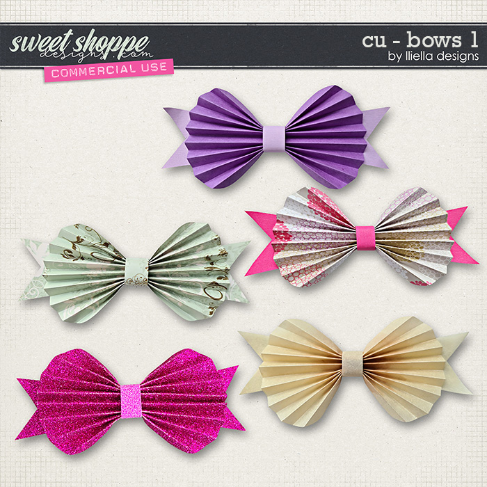 CU - Bows 1 by lliella designs