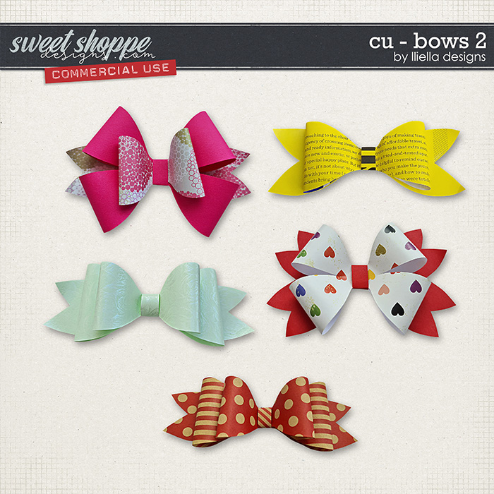 CU - Bows 2 by lliella designs
