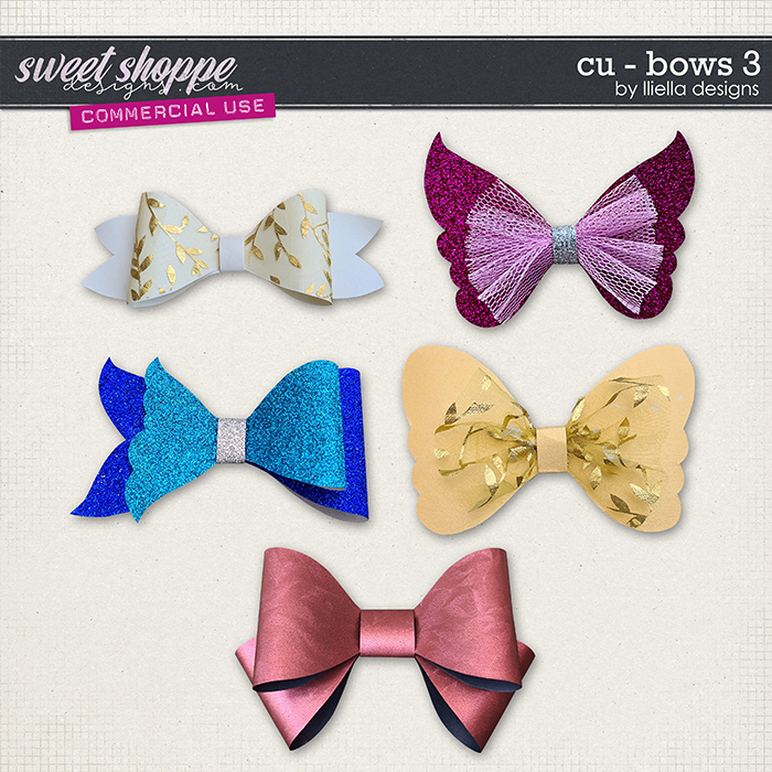 CU - Bows 3 by lliella designs