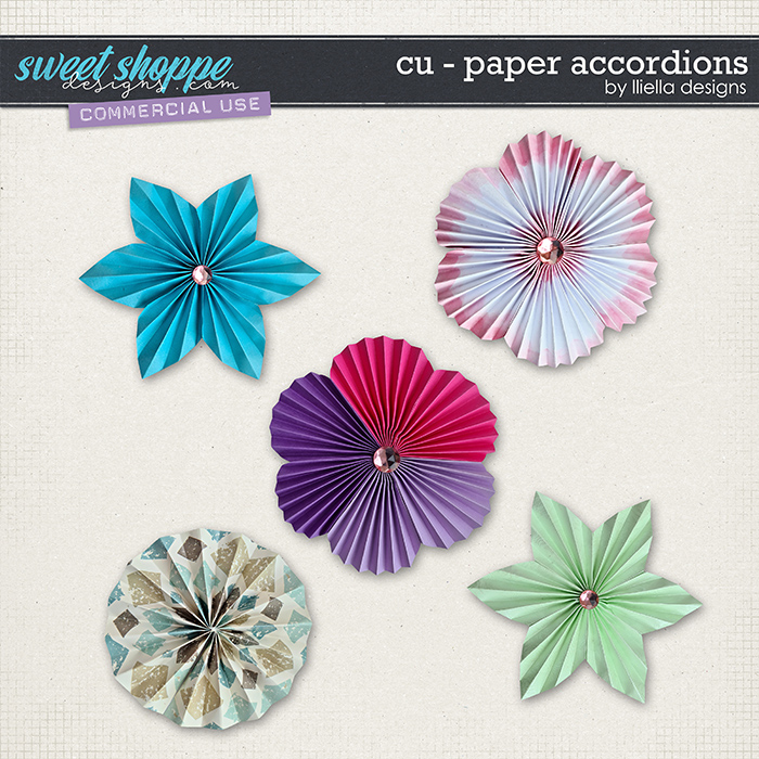 CU - Paper Accordions by lliella designs