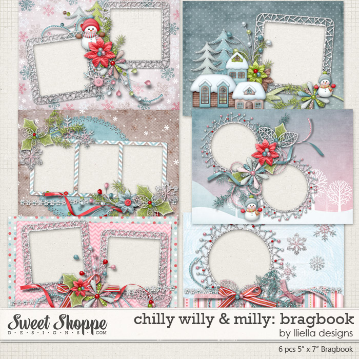 Chilly Willy & Milly: Bragbook by lliella designs