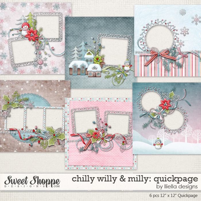 Chilly Willy & Milly: Quickpage by lliella designs