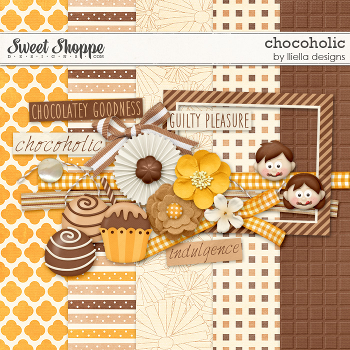 Chocoholic by lliella designs